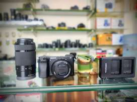 Sony A6300 with 2 lenses 16-50mm And 55-210mm