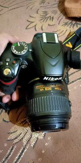 NIKON DSLR 3200 D AND 35 mm lens also buy
