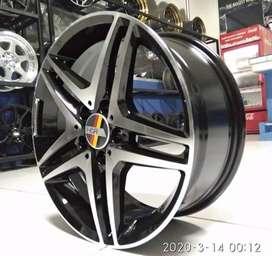 Velg R17 Velg Mobil ANTLERS H1303 HSR Pelek Mercy Audi RS TT New