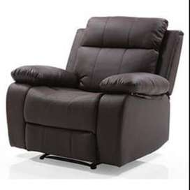 Urban Ladder New Leather Recliner Chair