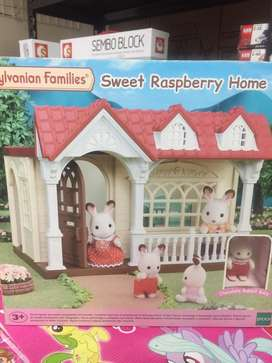 Mainan anak  silvanian families baru