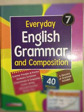 Everyday English grammar and composition class 7