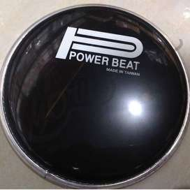"Drum head 10"" Power Beat Black"
