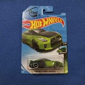 Hot Wheels '17 Nissan GT-R R35 Guaczilla Hotwheels