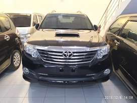 Jual fortuner G vnt turbo matic thn 2015