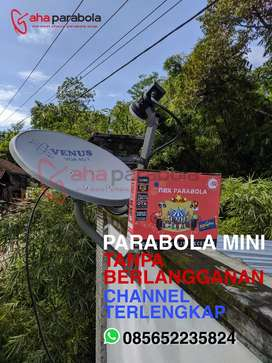 Parabola Mini Channel Lokal Komplit