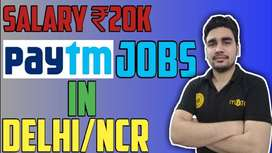 Paytm process urgent hiring for  KYC / CCE / Back office Executive