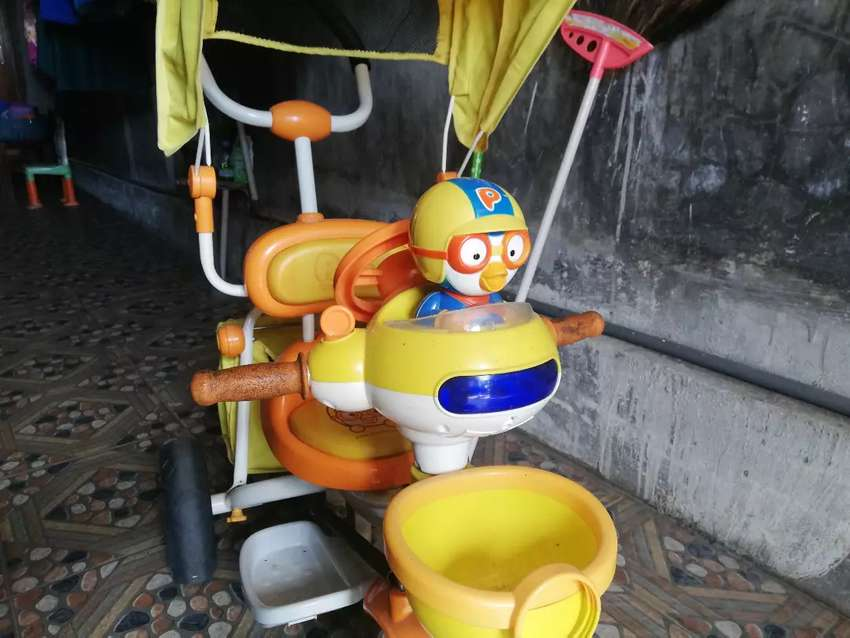 Sepeda anak roda 3 0