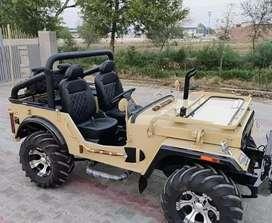 Open modified willyz jeep