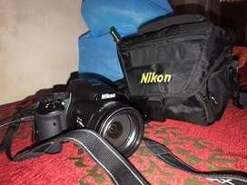 Nikon Coolpix P900 in new condition with charger,carry bag,memory card