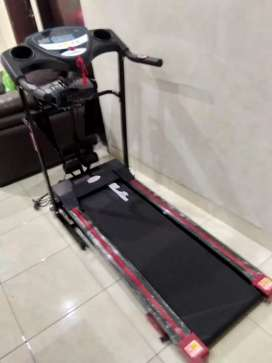 Treadmill elektrik black 629 dengan 3 fungsi