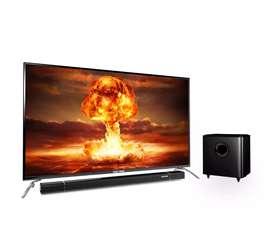 NEW !!! TV LED  Polytron 32in sound bar. Harga murah barang mewah