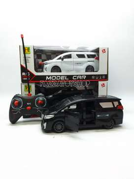 Mainan anak mobil remot control toyota alphard