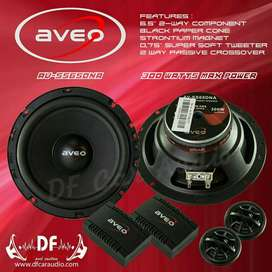 Split Aveo 6.5inc [ DF Car Audio]