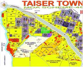 Taiser Town Scheme 45, Sector 52 Plot Available For Sale