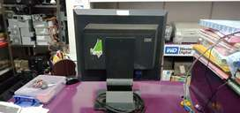 """Branded Ibm 17"""" Lcd monitor second ( om shakti computer vapi)"""