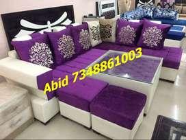 MJ22 corner sofa set branded color design 3 years warranty hurry