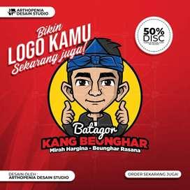 Bikin desain logo kamu | UMK | Corporate | Perusahaan | Jasa Desain