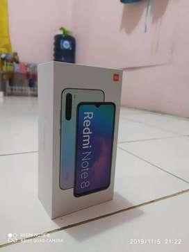 Xiaomi redmi note 8, black 4/64