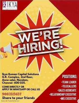 Hiring for Banking Sales Process all over the city