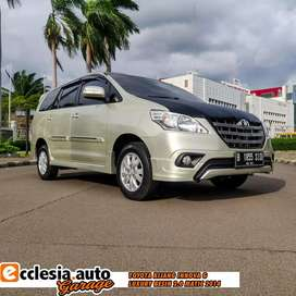 Toyota Kijang Innova G Luxury Bensin Matic 2014 Low Km