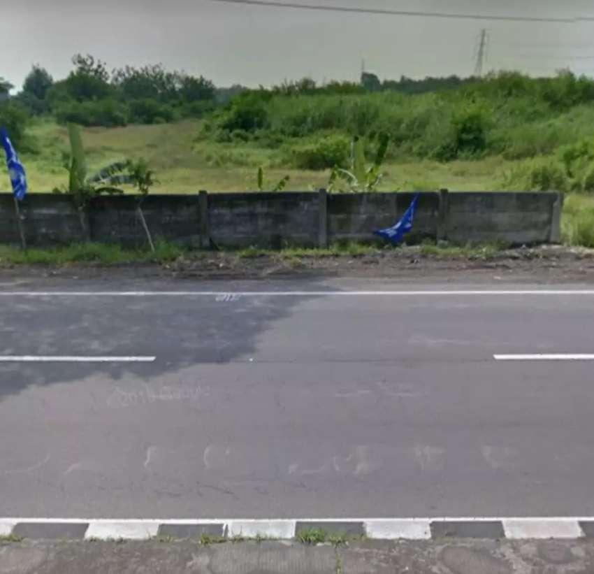 Lahan dkt exit Tol 6,5Ha muka 310m Jl.Raya Jogja Solo 1,5jt/m2 0