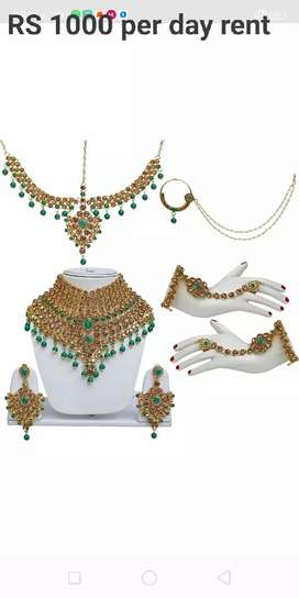 BS fashion.. ethnic jewelry on rent for wedding function