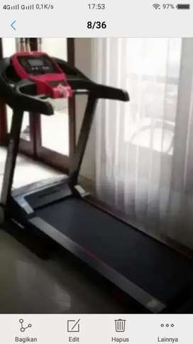 Olahraga di rumah treadmill elektrik 1  fungsi hanatha