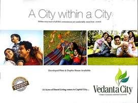3bhk duplex vedanta city fully developed project near kamal vihar