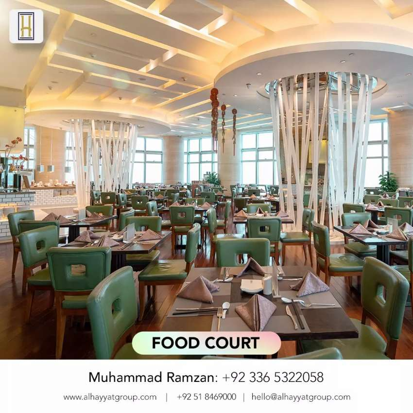 Food court for sale in Alhayyat mall & B17 0