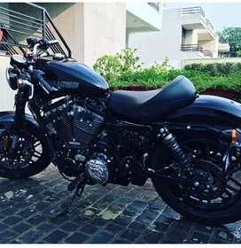 Harley Davidson Roadster with Original Harley Davidson Accessories