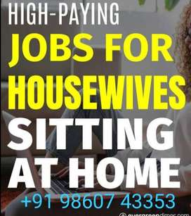 Required serious hard working 10 candidates for work from home job