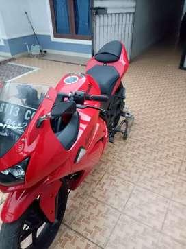 Ninja 250 karbu 2012 *pribadi*