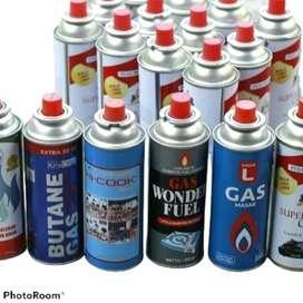 Refill Gas Portabel kaleng + isi