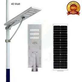 Lampu PJU tenaga surya PJU LED AC DC solar cell panel