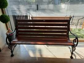 Manufacturing garden benches