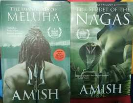 Book name: The Immortals of Meluha.. And.. The Secret of the Nagas..