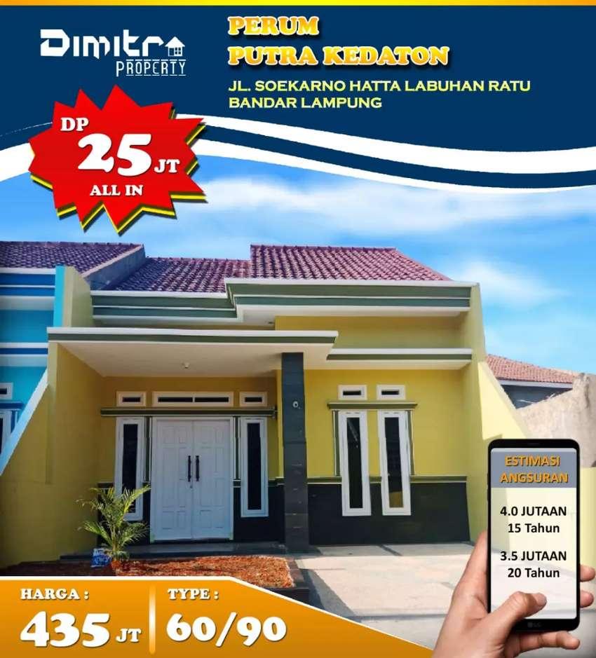Siap Bangun type 60/90 Spek Oke Lokasi Nyaman Kota Bandar Lampung 0