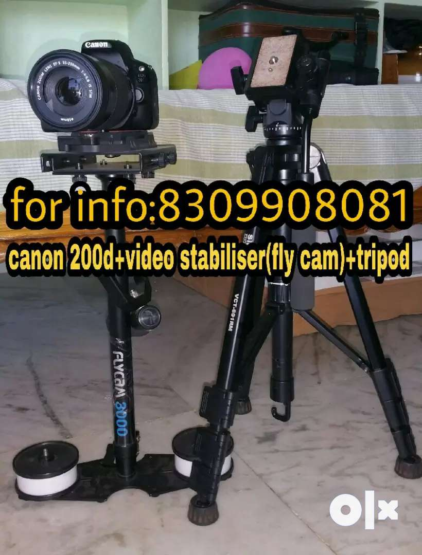 (RENT)Short film making,cover songs,photo shoots availabl canon 200d 0