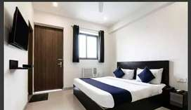&Balcony Ac Room with meal@10500 % Double Sharing Fully furnished &
