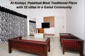 Just 5 kms away from Anvaar Public School - 3 bhk villas @ Kottayi
