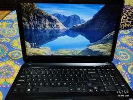 Sony vaio black laptop