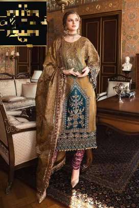 Maria b chiffon wedding collection new arrival