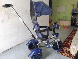 sepeda stroller roda 3 Genio