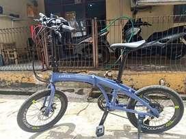 Sepeda lipat 20 EXOTIC EXPLORE 10.0  2x10 speed ks