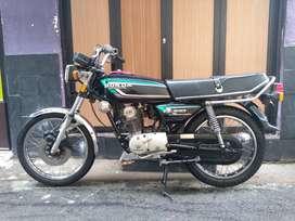 Honda GL100 CDI Tahun 92 Original Murah Komplit