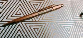Luxury Pen - Caran D'Ache 849 Brut Rose Special Edition -