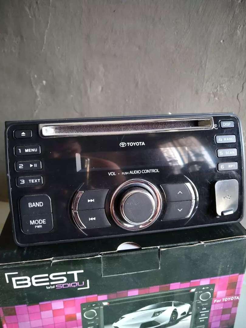 Singeldin/tape CD Bawaan etios valco G 0