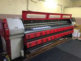 Flex printing unit and eco solvent roland  unit