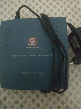 MODEM ROUTER - WIRED